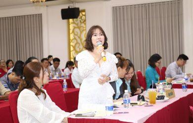 Bà Nguyễn Ngọc Tiền, vợ diễn viên Quý Bình, TGĐ công ty BĐS Đảo vàng